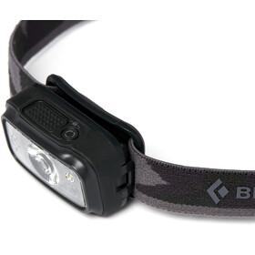 Black Diamond Cosmo 300 Linterna frontal, negro/gris
